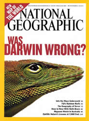 Image of the cover of National Geographic