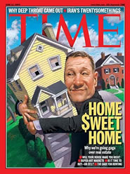 Image of the cover of Time magazine.