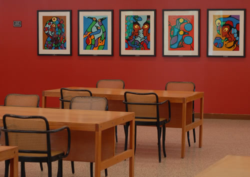 photo of Norval Morrisseau prints