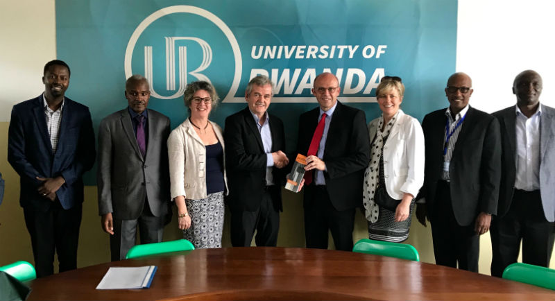 Trent officials meet with University of Rwanda administration