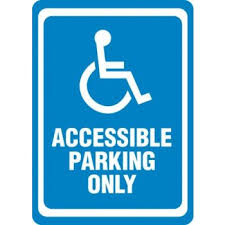 Persons with a Ministry of Transportation Accessible Parking Permit