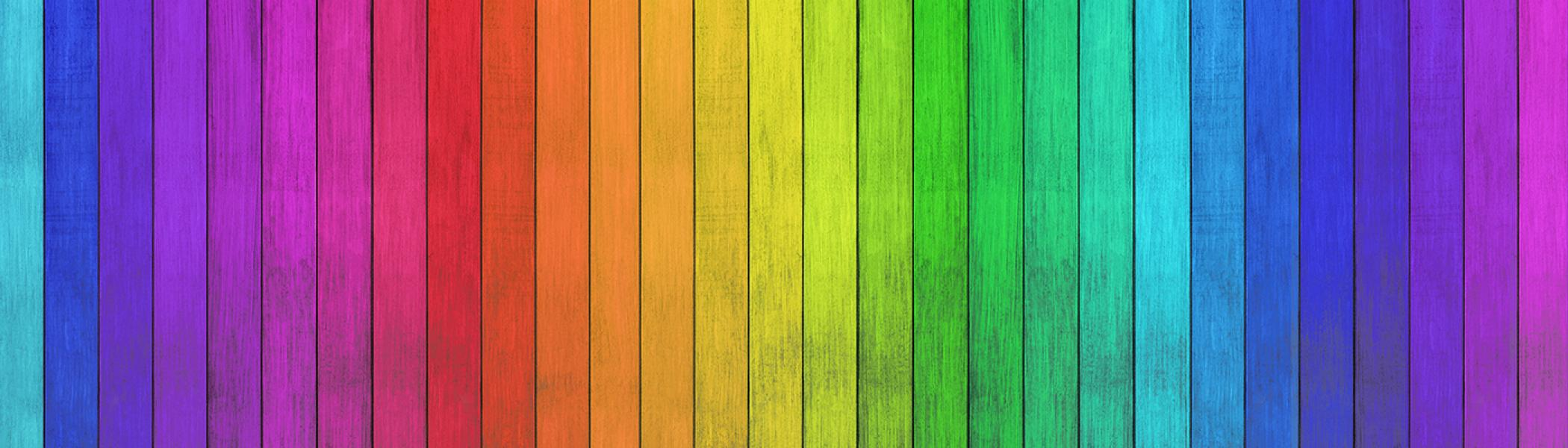Colour bands or the spectrum