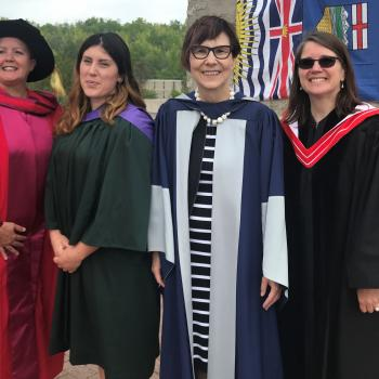 Faculty and Cindy Blackstock