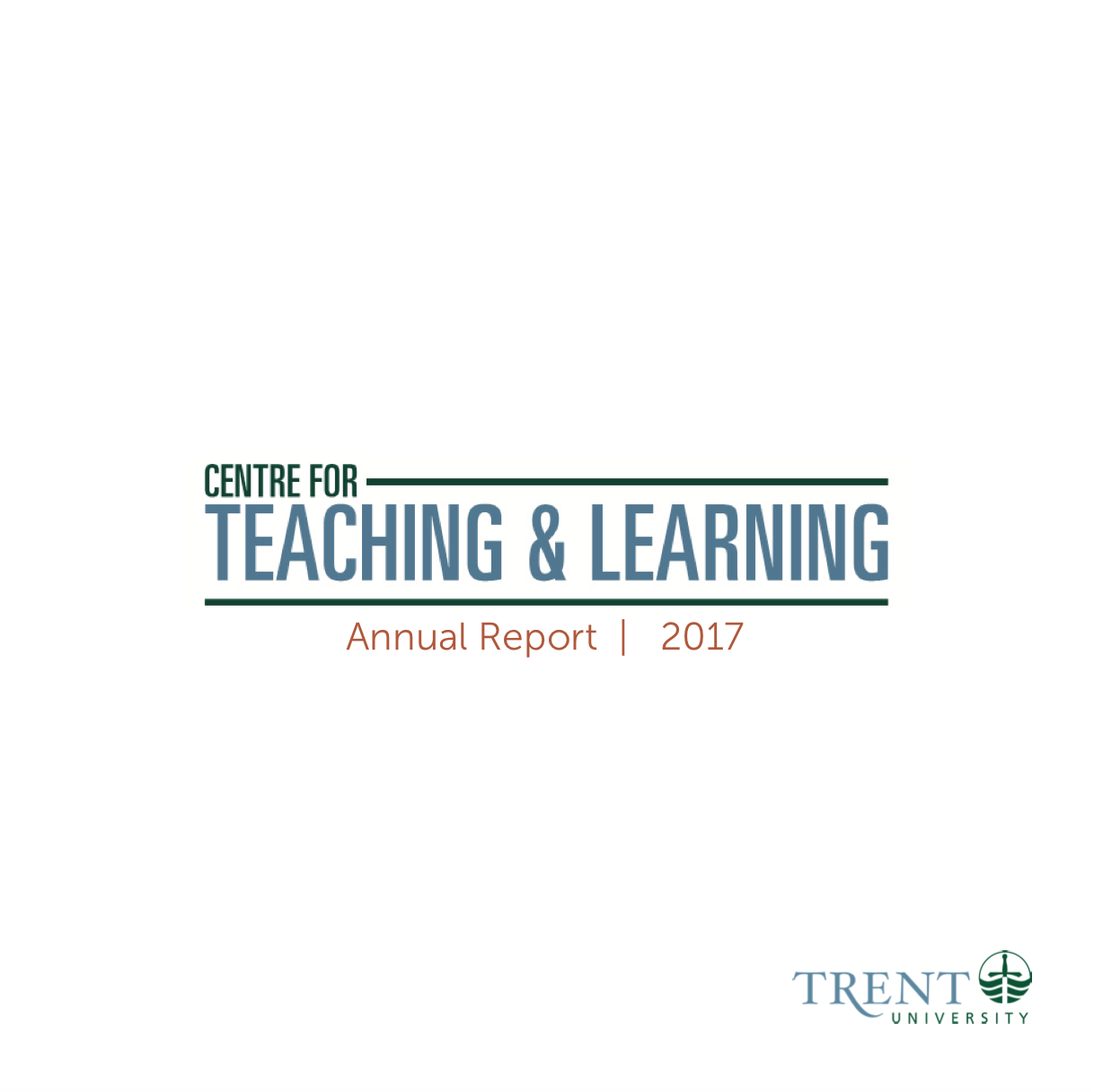 CTL logo on basic white cover for 2017 Annual Report