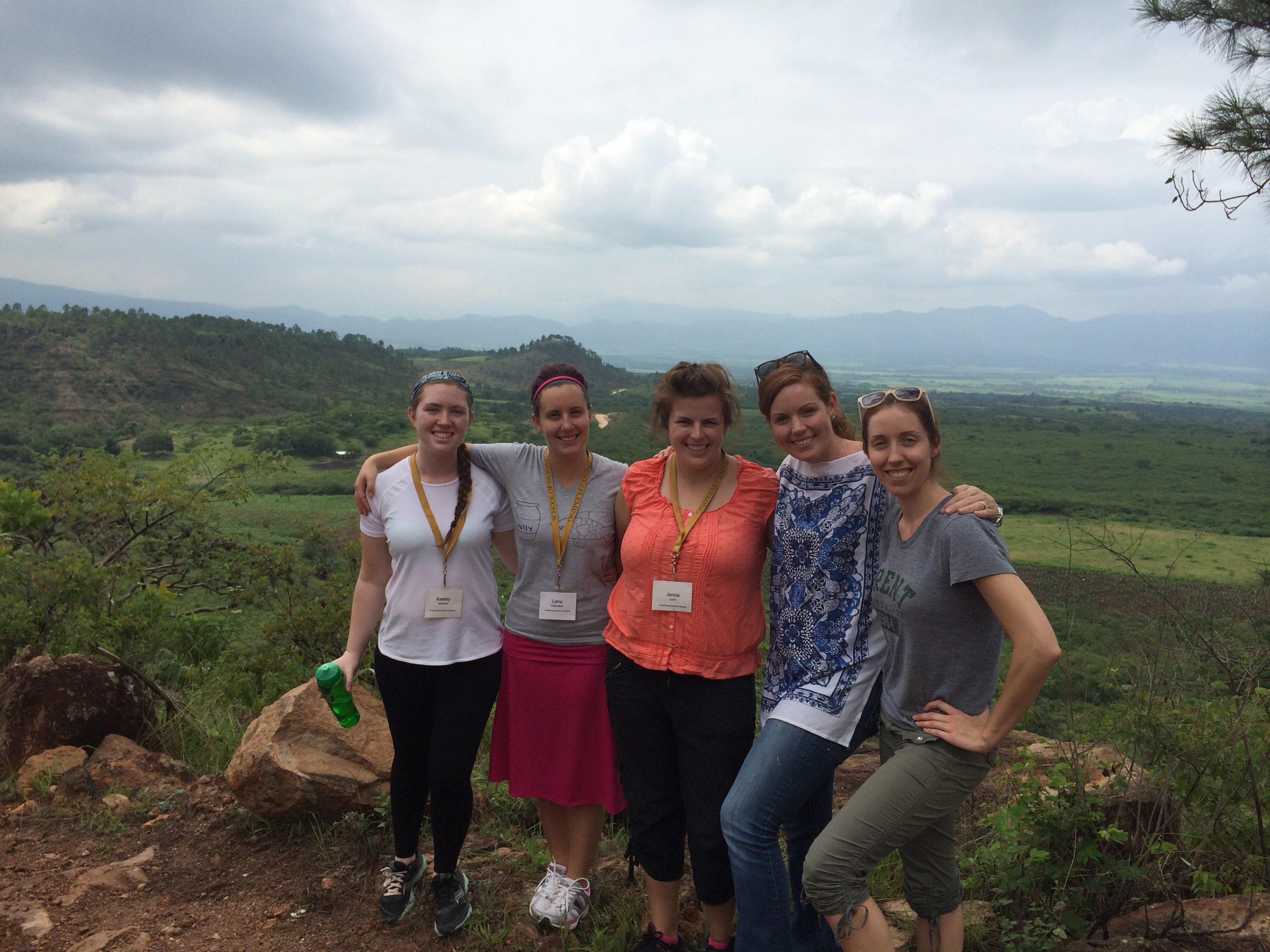 Students who worked in Honduras