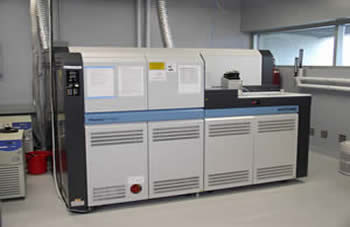 Image of the Thermo Finnigan (Neptune) Multicollector ICP-MS
