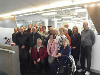 The Ontario Flying Farmers visit Trent's Water Quality Centre